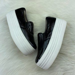 * Steve Madden Bellie Platform Sneakers Slip On *